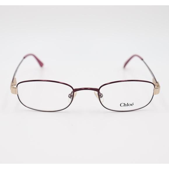 ea3c4b2951da Chloe Eyeglass Frames Purple Metal CL1187